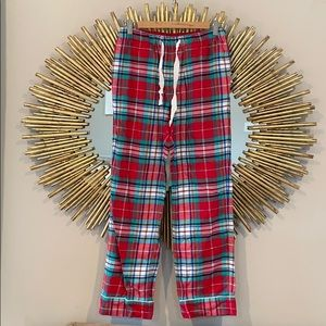 Lands' End Red Flannel Pajama Pants
